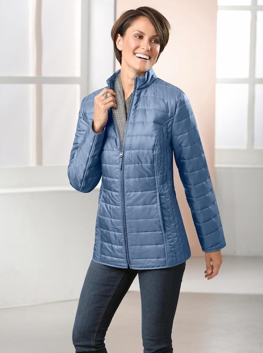Steppjacke - jeansblau