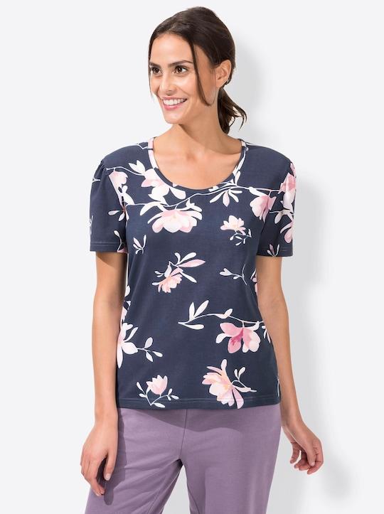 Plantier Shirt - marine-gemustert