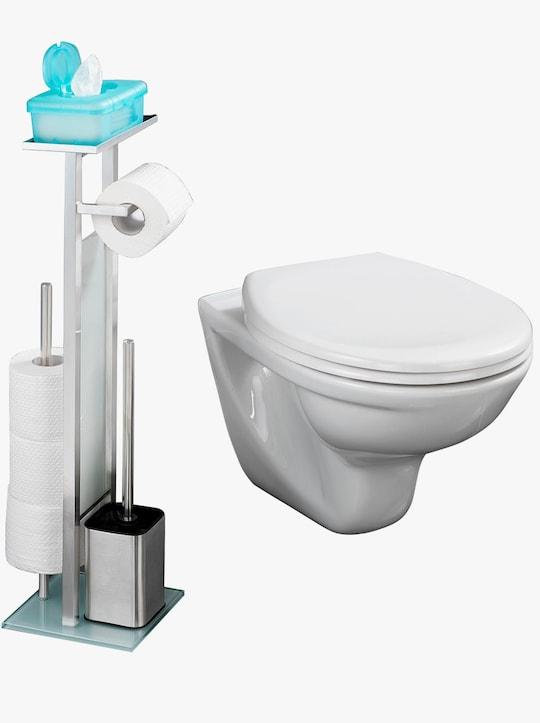 WC-Hygiene-Center - silberfarben