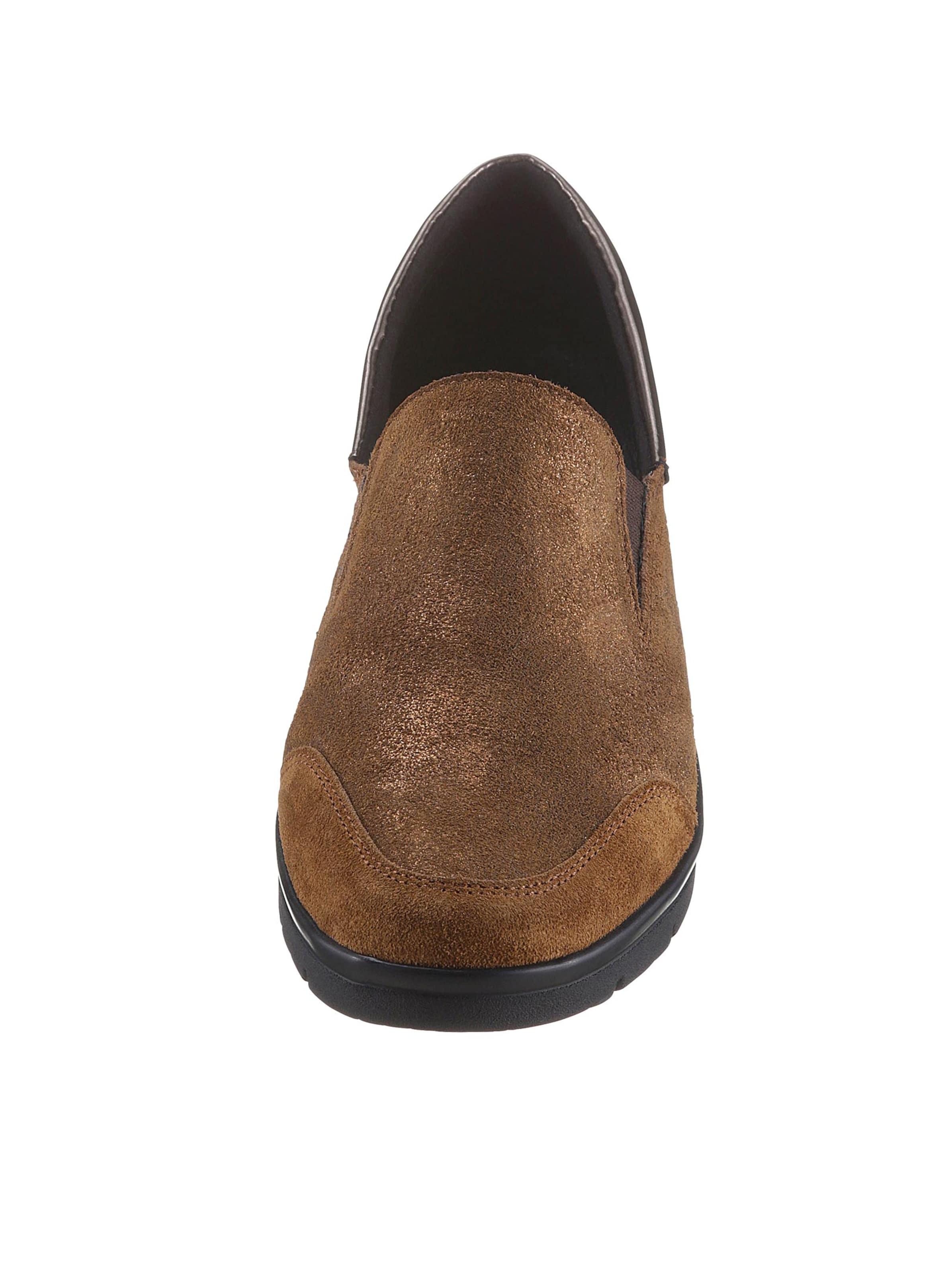 aco - Damen Slipper bronzefarben