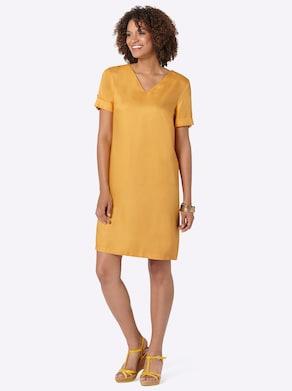 Kleid - maisgelb