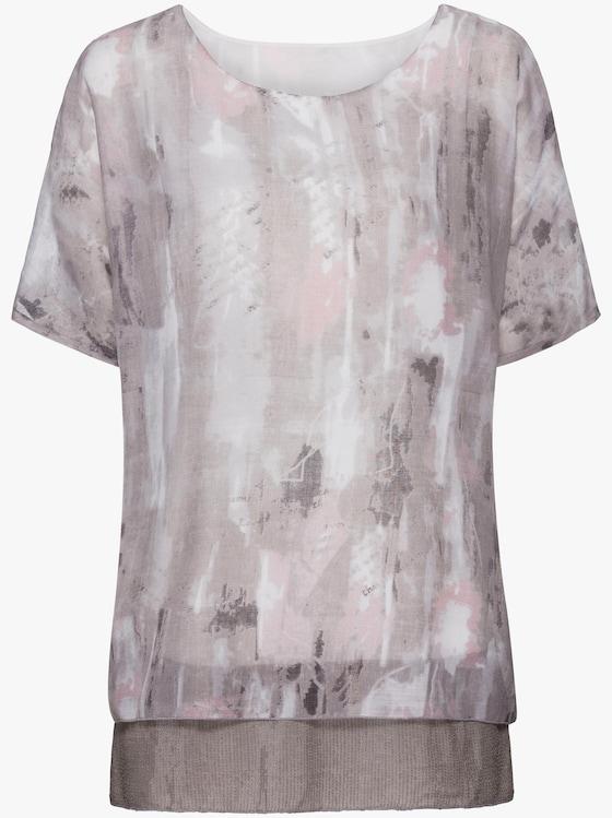 Tuniek - grijs/roze