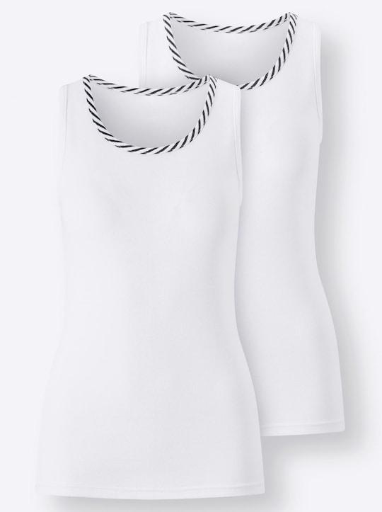 wäschepur Shirt - wit