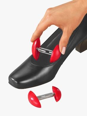 Schoenspanner - rood/zilverkleur