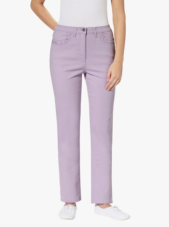 Jeans - lila