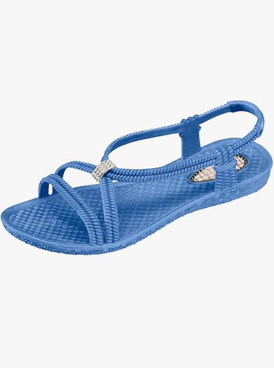 Badsandaler - blå