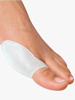 Silikon-Hallux-Schutz - weiß