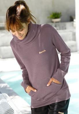 Bench. Sweatshirt - mauve-meliert