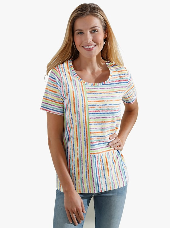 Shirt - bunt-gemustert