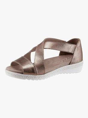 Sandalette - taupe