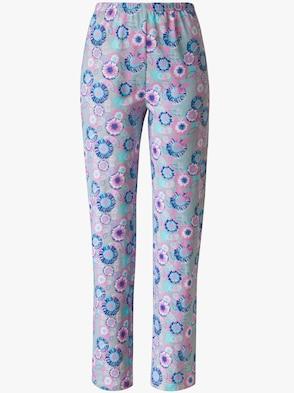 Schlafanzug-Hose - Blumen