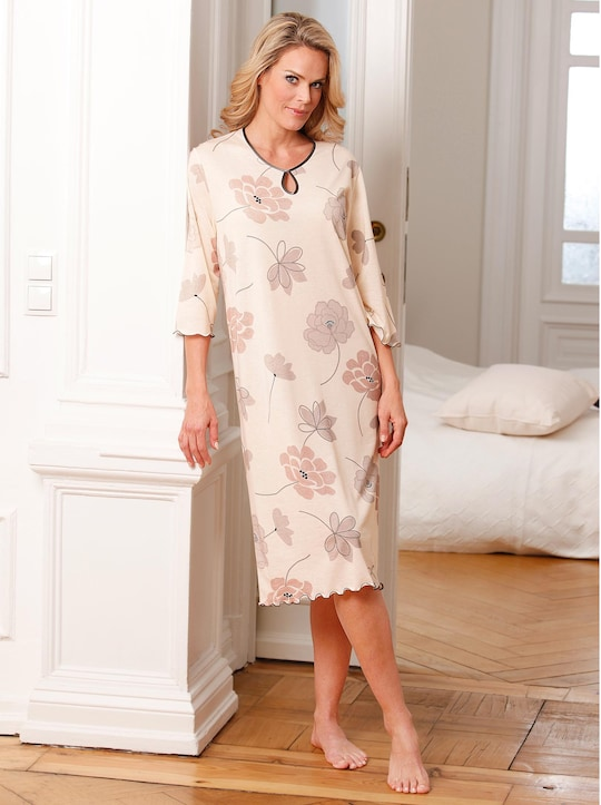 Arabella Nachthemd - apricot-braun