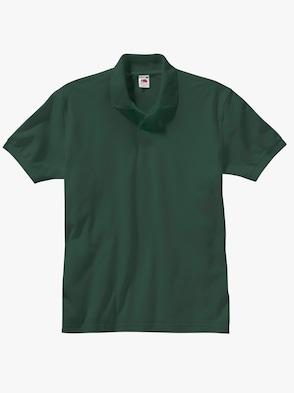 Poloshirt - tannengrün