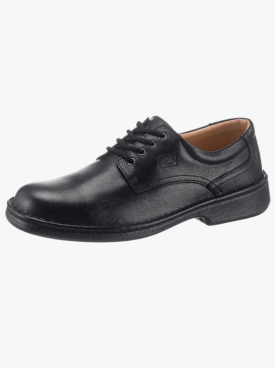Softwalk Handmade Schnürschuh - schwarz