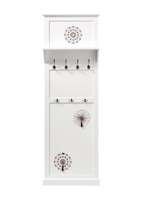 heine home Garderobenpaneel - weiß-natur