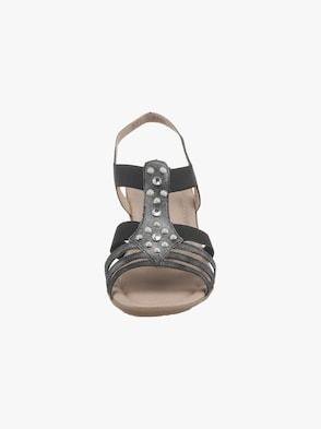 Sandalette - anthrazit me