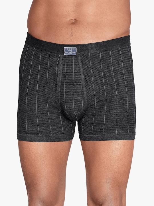 ESGE Krátké kalhoty - tmavěšedá-proužek