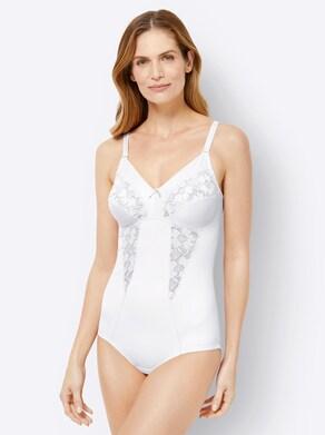 wäschepur Body ohne Bügel - weiß