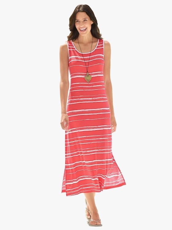Ringella Sommerkleid - rot-gestreift