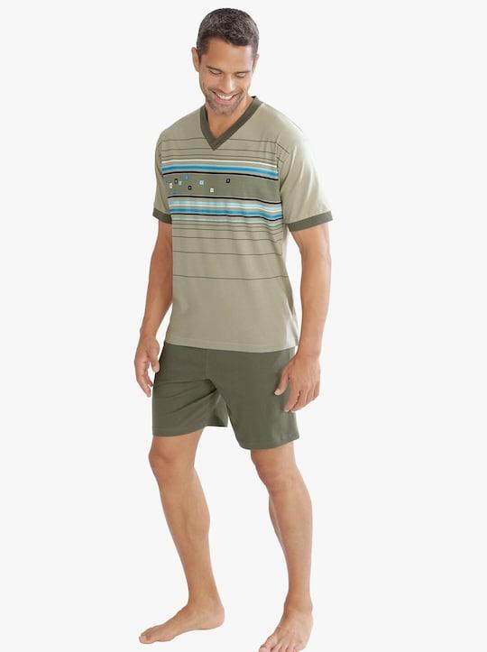 Top Ten Krátké pyžamo - rákosová-potisk
