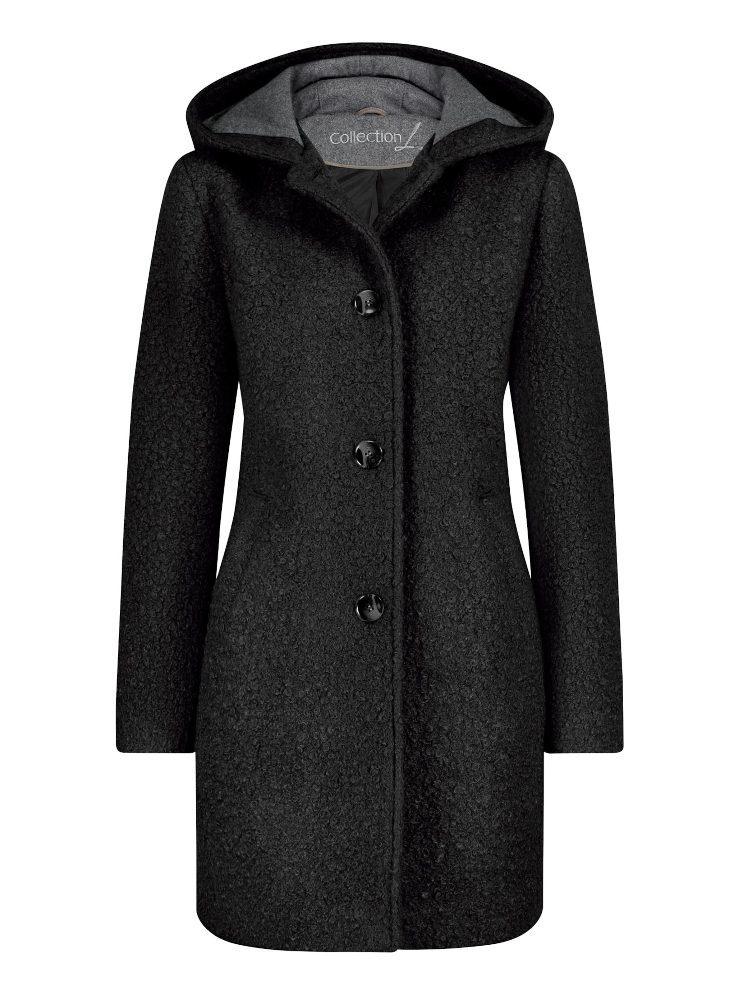 witt weiden -  Damen Jacke schwarz-grau