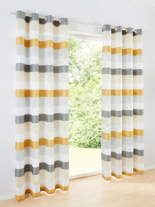 heine home Dekostore - grau-goldfarben