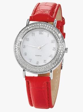 Armbanduhr - rot