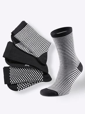 Damen-Socken - schwarz