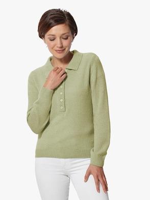 Pullover - lindgrün