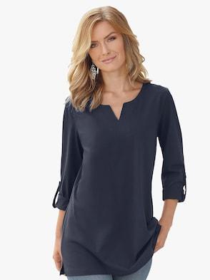 Tričko - námořnická modrá