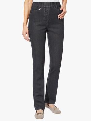 Džínsy - čierna džínsovina