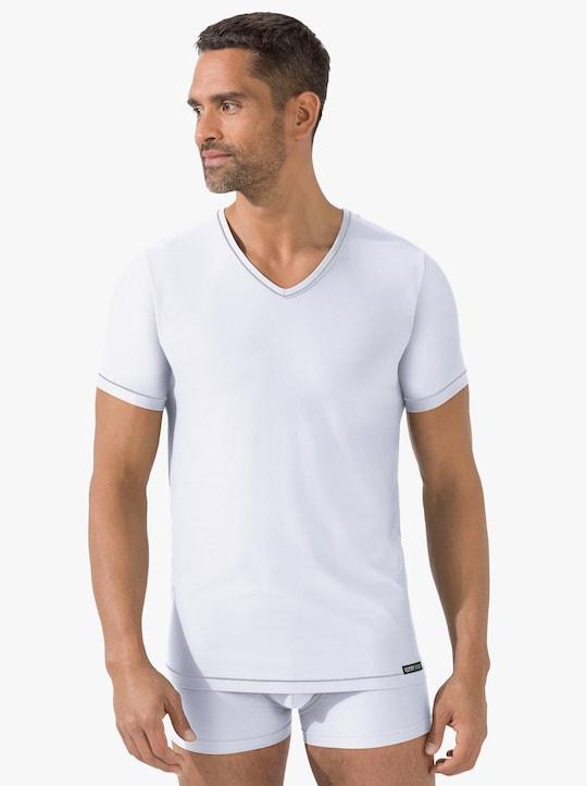 Kumpf Shirt - weiß