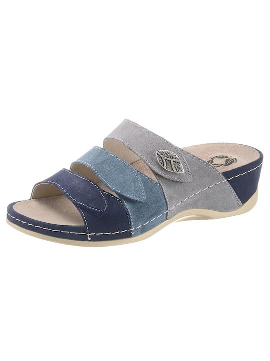 Mubb Pantolette - blau-grau