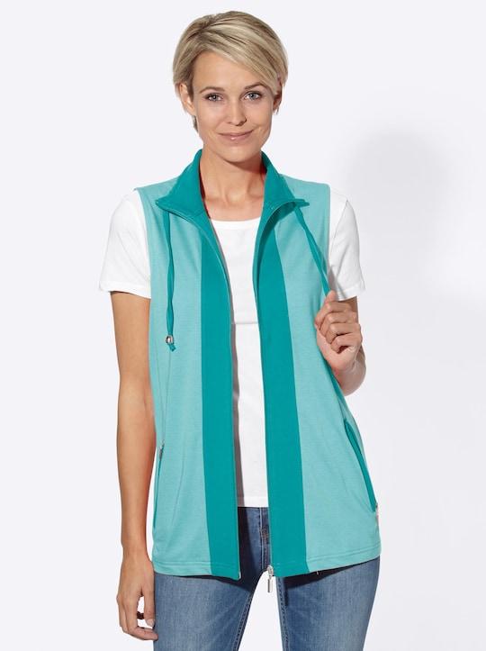 Collection L Shirtweste - mint