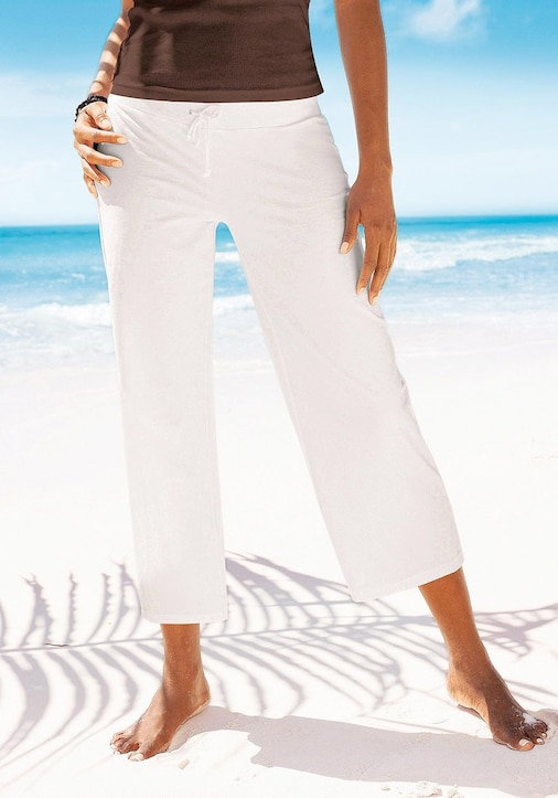 Beachtime 7/8-Strandhose - weiß