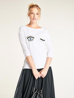Linea Tesini Shirt - weiß