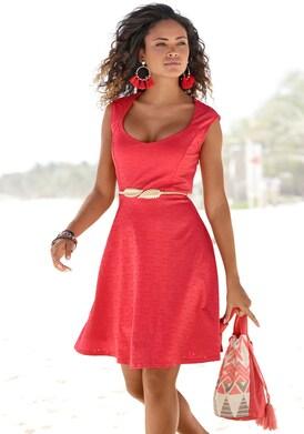 Beachtime Sommerkleid - rot