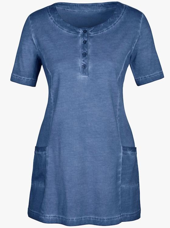 Longshirt - rauchblau