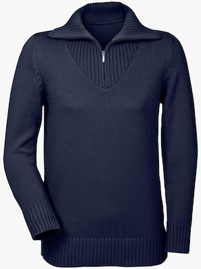 Collection L Pullover - marine