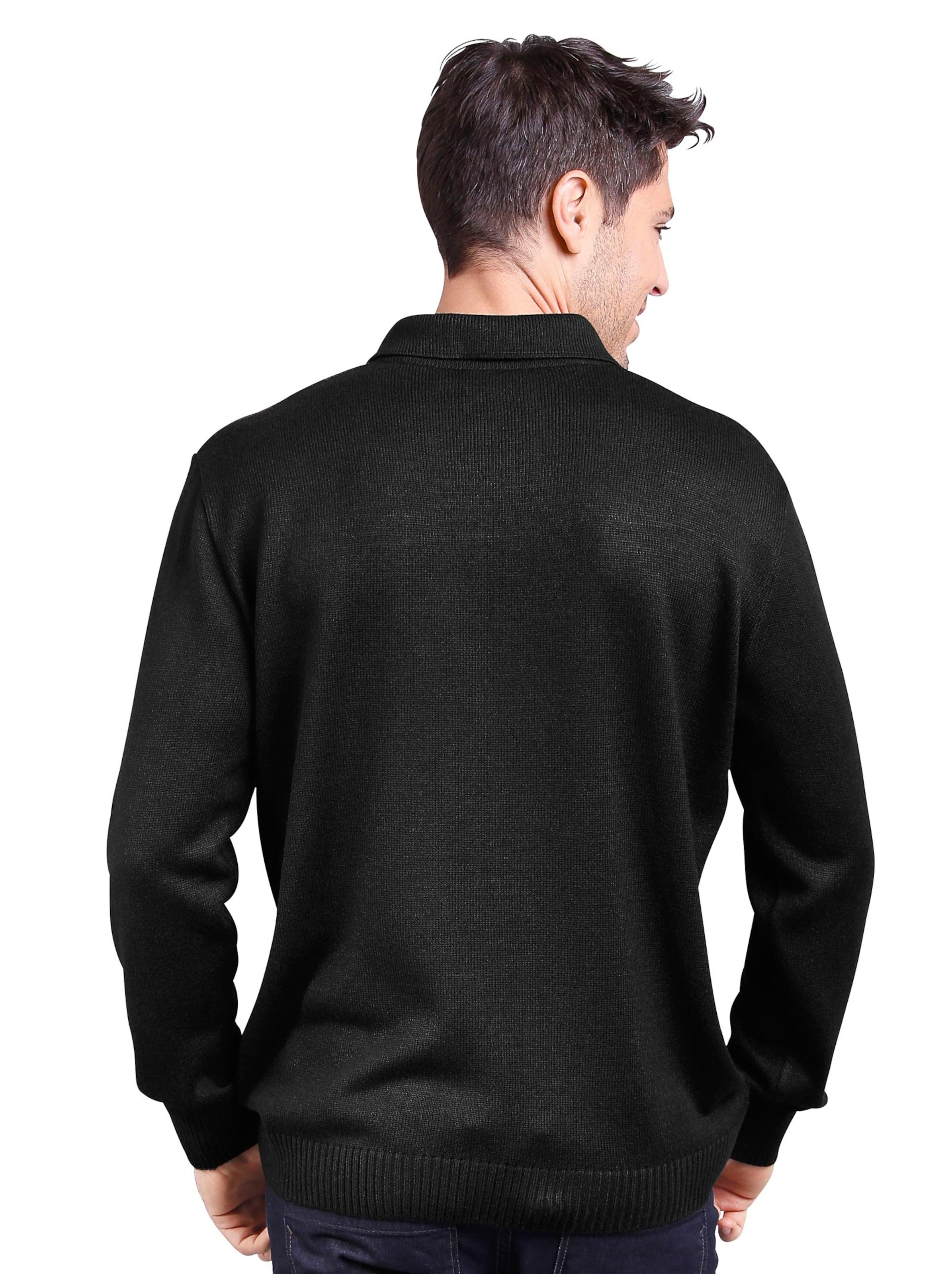 witt weiden - Herren Pullover schwarz-gemustert