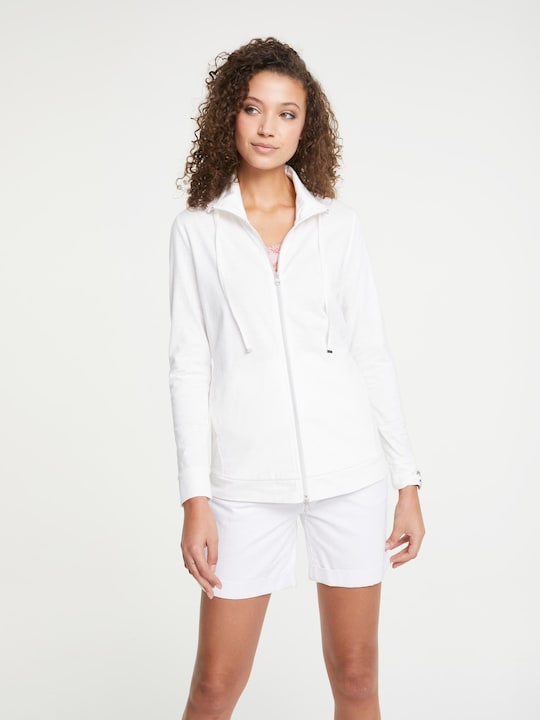 Linea Tesini Shirtjacke - weiß