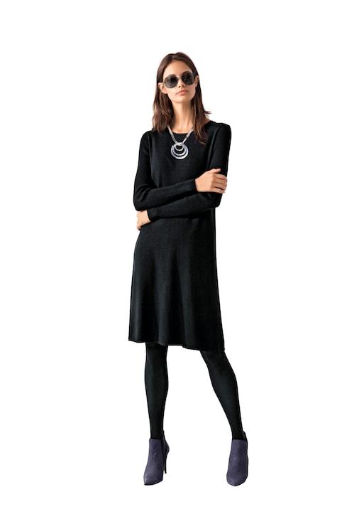 Linea Tesini Strickkleid - schwarz