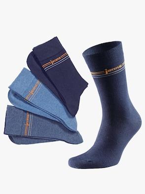 Herren-Socken - blau-sortiert
