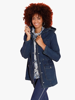 Jacke - blue-stone-washed
