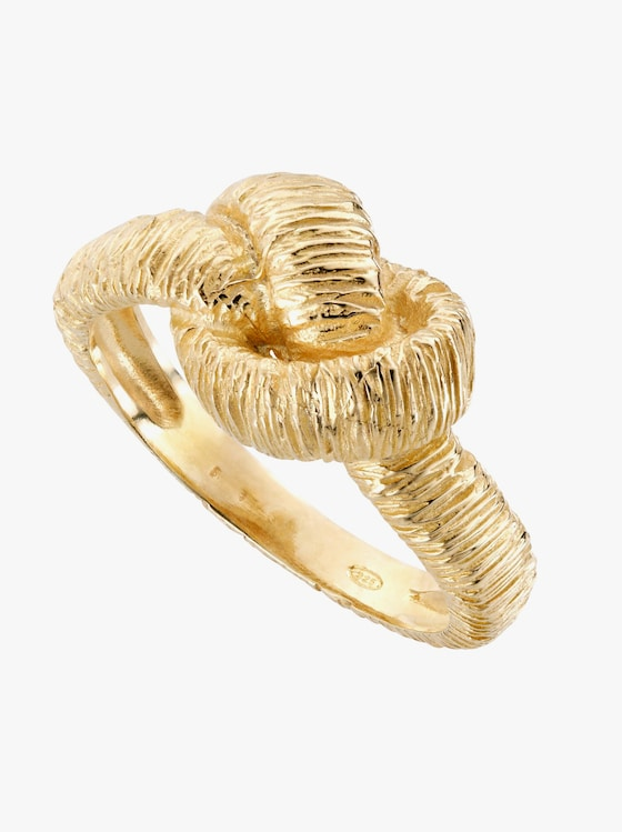 Ring - Silber vergoldet 925