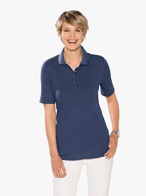 Poloshirt - nachtblauw