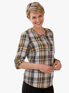 Halenka - okrová-kostka