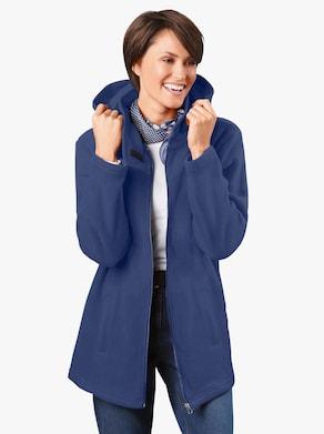 Fleece-Jacke - blau