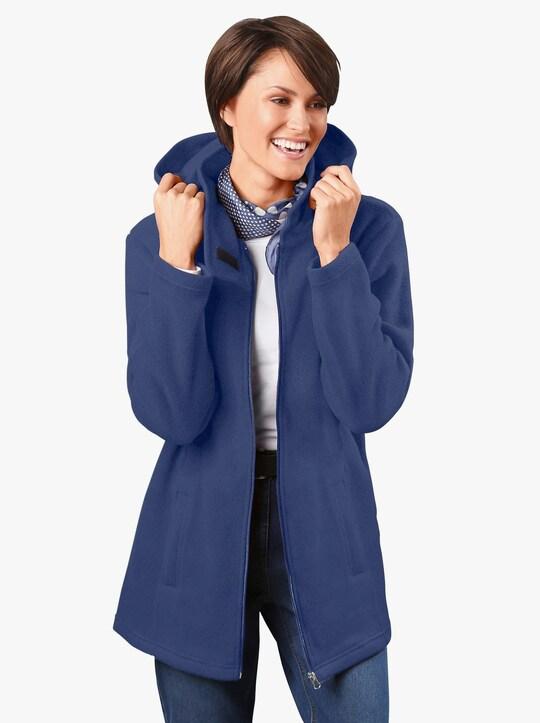 Fleecová bunda - modrá