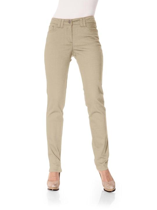 Linea Tesini Push-up-Hose - beige
